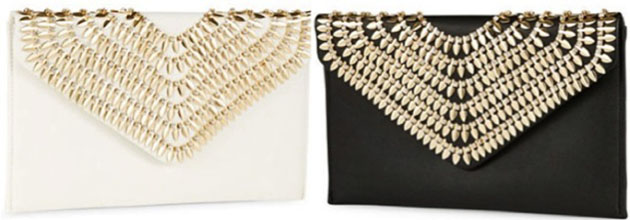 Accessories, Bag Desires, Beaded Clutch, Fashion Talk, LA SERA Aria Gold Clutch, Lord & Taylor