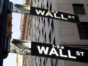 Wall Street Two Signs