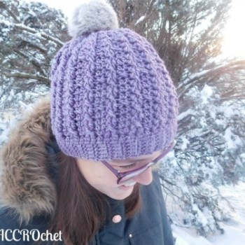 Trinity, tuque câblée / cabled hat. crochet