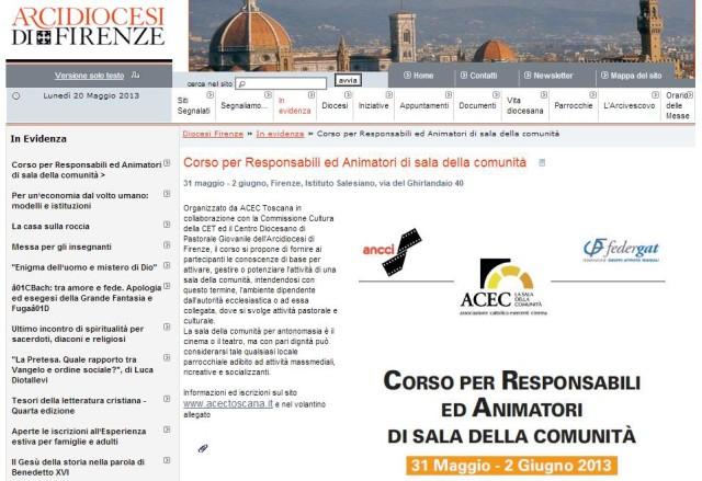 sito diocesi Firenze