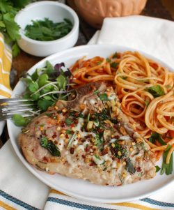 Upscale 1 849x1024 Veal Chop Recipes Pan Fried Veal Chop Recipes Baked Easy Italian Style Veal Chops Image 2 1