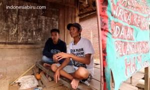 Joko Prianto alias Prin (32) aktivis tolak semen di Rembang