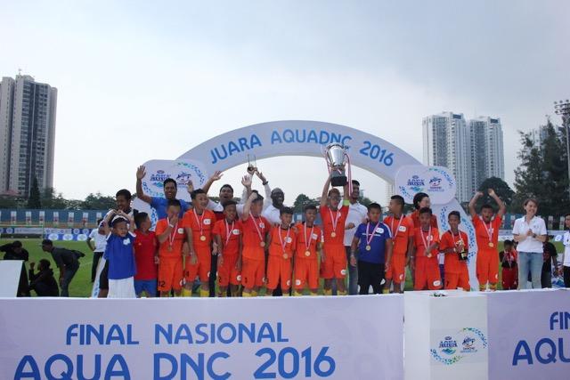 SSB Salfas Wakili Indonesia ke Piala Aqua Danone ke Prancis