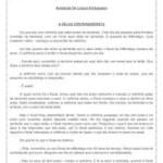 Avaliação de Língua Portuguesa (Interpretação de texto) – 5º Ano