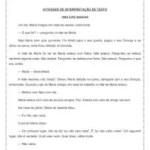 """Interpretação de texto """"Uma das Marias"""" – 4º ou 5º ano"""