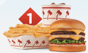 The Double Double combo at In-N-Out Burger
