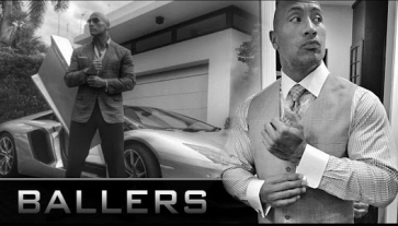 Ballers on HBO starring Dwayne Johnson
