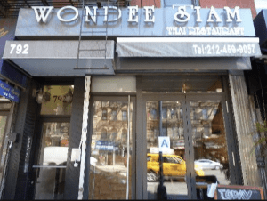 Wondee Siam in Hell's Kitchen