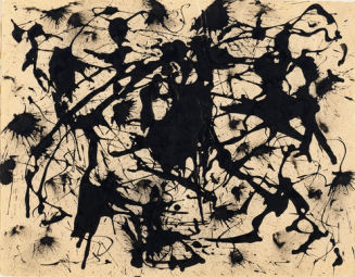 Jackson Pollock at the MoMA