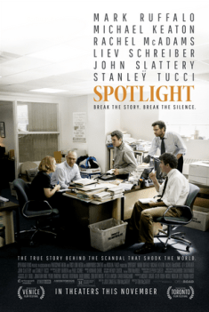 Spotlight with Rachel McAdams, Mark Ruffalo and Liev Schreiber