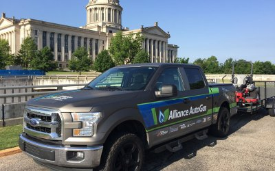 Historic Propane Gas Clean Air Ride Stops at Oklahoma State Capitol (Pictures)