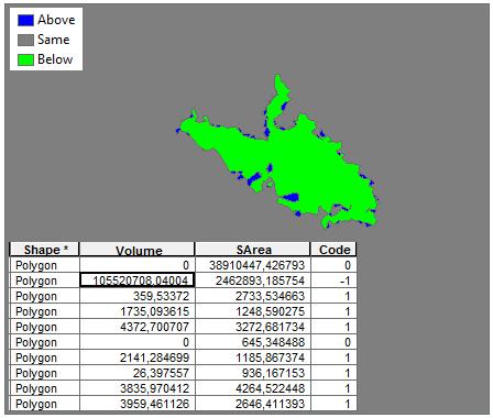 Cálculo del volumen del movimiento de tierra ArcGIS