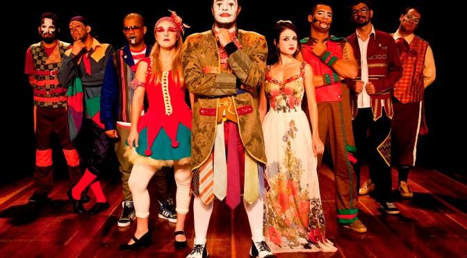 Espetáculo da banda 'O Teatro Mágico' estreia no Parque de Itaipava