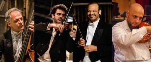 Quarteto de Cordas da Orquestra Sinfônica Petrobras se apresenta no Centro de Petrópolis