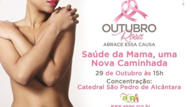 Caminhada do 'Outubro Rosa' acontece neste sábado em Petrópolis