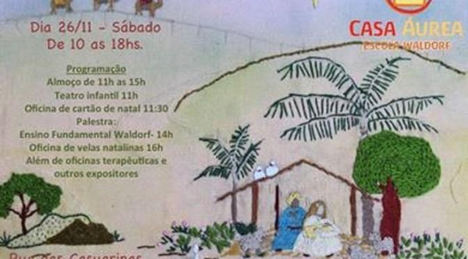 Casa Áurea promove seu bazar de Natal