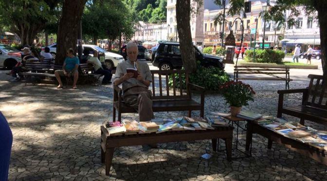 Praça Florida de Livros começa nesta sexta em Petrópolis