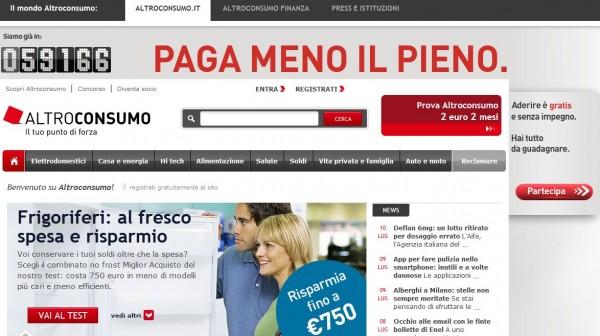 www.altroconsumo.it: 5 vantaggi per diventare Socio