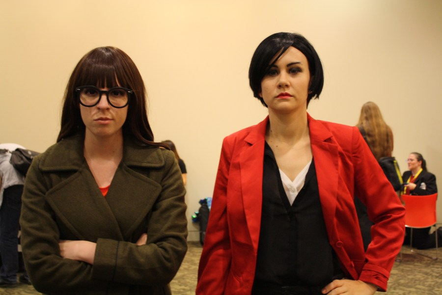 geek girl con jessica merizan holly conrad daria and jane cosplay