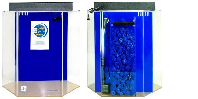 95 Gallon Acrylic Hexagon UniQuarium Aquarium 25x36 | Acrylic