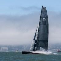 Extreme sailing on San Francisco Bay