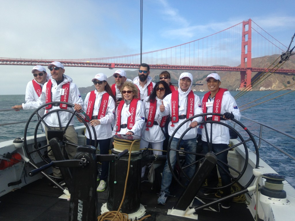 Team building activities with ACsailingSF
