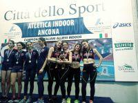 Staffetta Allieve bronzo Ancona 2018