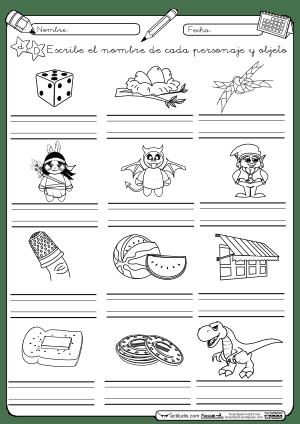 Escritura d montessori