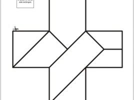 Tangram de cruz