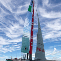 The Italian sailing team has announced that it will not race tomorrow. (City of Alameda)