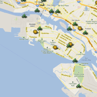 There will be a number of energizer stations in Alameda for Bike to Work Day.