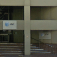 The building at 611 Folsom Street in San Francisco, where AT&T keeps switching equipment. (Google Street View)