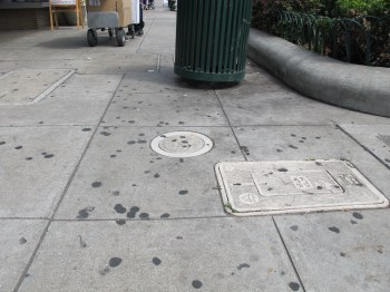 Mayor Marie Gilmore says that Alameda's sidewalks are filthy.