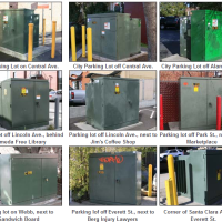 Alameda Municipal Power has selected artists to create artwork for Park Street utility cabinets. (Alameda Municipal Power)