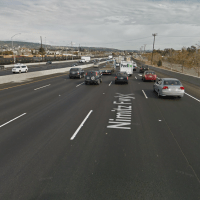 Expect evening lane closures on I-880 as Caltrans implements an HOV lane extension. (Google Street View)