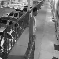 Alameda police provided this surveillance photo of a person of interest. (Alameda Police Department)