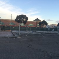 The site of the September 2014 Park Street fire has been razed in recent weeks. (Action Alameda News)