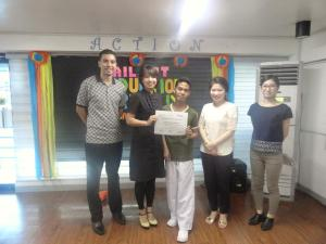 Awarding of Certificate of Completion to Mr. Bitara