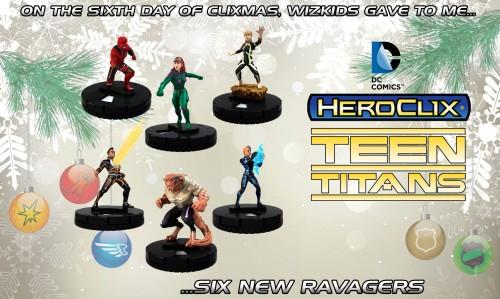 HeroClix Ravagers figures