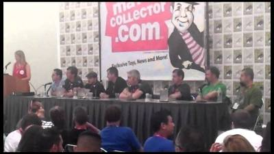 Mattel's 2011 SDCC Mattel/DC Comics Panel (3 of 3)