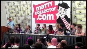 Mattel's 2011 SDCC MattyPallooza Panel (3 of 3)