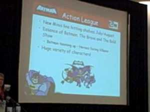 SDCC09 – Mattel/DC Panel 1 of 5