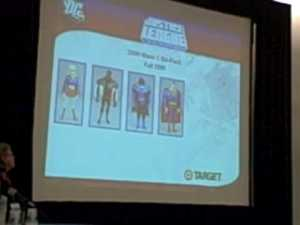 SDCC09 – Mattel/DC Panel 2 of 5