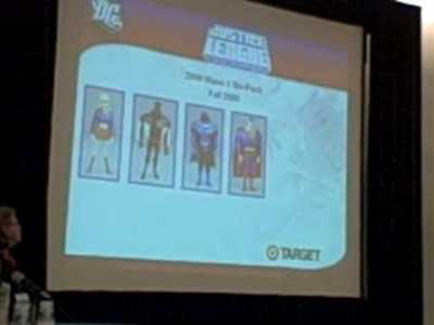 SDCC09 – Mattel/DC Panel 2 of 5
