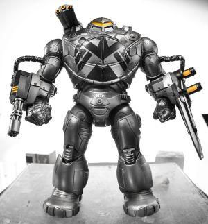 "Captain America-6"" Legends Infinite Series BuildAFigure Mandroid"