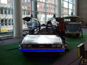 RICC 2013 Back to the Future Vehicle Prop