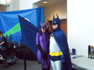 RICC 2013 Cosplay - Catwoman and Batman