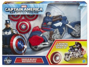 CAPTAIN AMERICA SHEILD BLAST MOTORCYCLE In Pack A6301