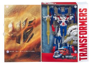TRANSFORMERS FIRST EDITION OPTIMUS PRIME Open Package