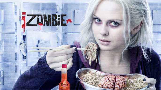 iZOMBIE: Rose McIver stars in Warner Bros. Television's iZOMBIE, debuting midseason on The CW. (Photo Credit: © The CW/Warner Bros. Entertainment Inc. All Rights Reserved.)